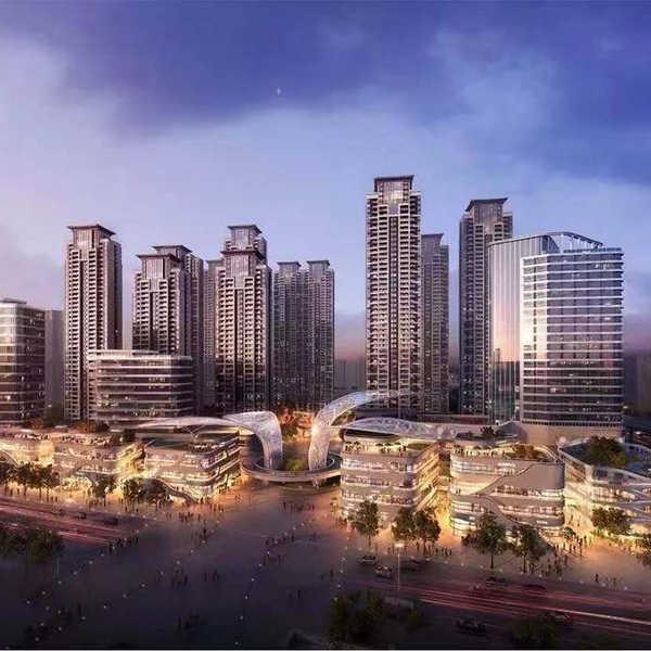 新建居住、娱乐、图书展览设施项目(中建铂公馆K2地块)